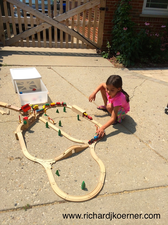 SHK and Brio train