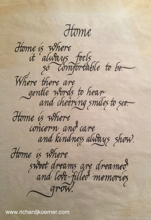 Home - RJK Calligraphy